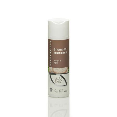 Shampoo Canapa e Argilla