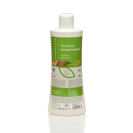Shampoo Canapa e Olio di Lino